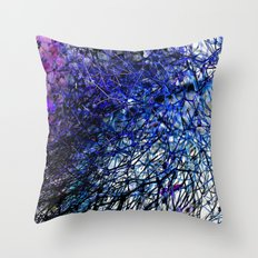 abstract lll Throw Pillow