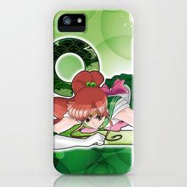 Sailor Jupiter - Crystal Planet edit. iPhone Case