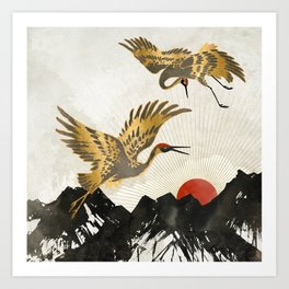 Elegant Flight II Art Print