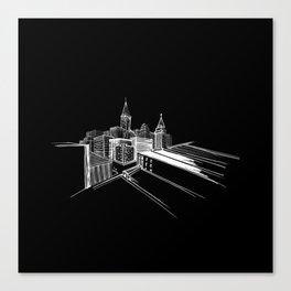 Vibrant city 7 Canvas Print