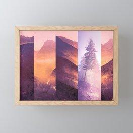 Fraction Framed Mini Art Print