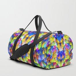 Colorful digital art splashing G395 Duffle Bag
