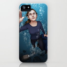 Fitzsimmons - Ninety Feet on One Breath iPhone Case