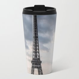 Eiffel Tower Paris Clouds Travel Mug