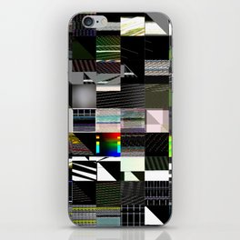 Abstract digitalism pt. I iPhone Skin
