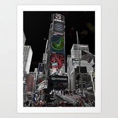 Times Square Art Print