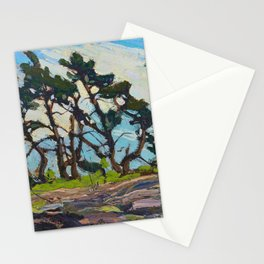 Tom Thomson - Pine Island - Canada, Canadian Oil Painting - Group of Seven Stationery Cards