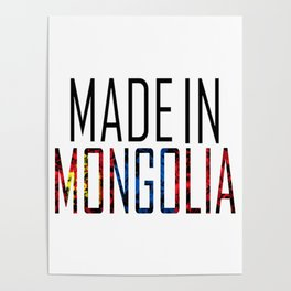 Made In Mongolia Poster