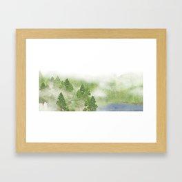 Miharu Shirahata | The day a cloud is born Framed Art Print