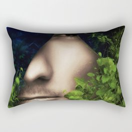 When He looked into Paradise - It was Midnight Fx  Rectangular Pillow