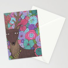The Wise Stag Stationery Cards