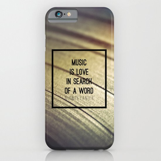 Music Is iPhone & iPod Case