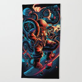Lost in Space Beach Towel