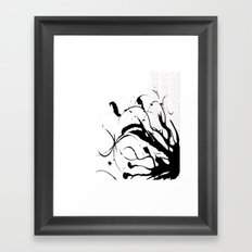 Scatter Framed Art Print