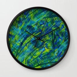 the night storm Wall Clock
