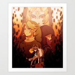 Legend of Zelda: Twilight Princess Art Print
