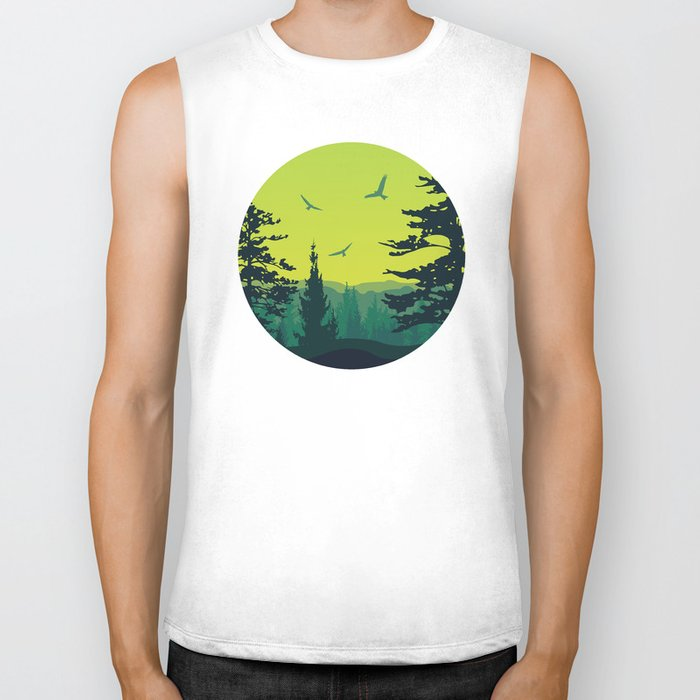 My Nature Collection No. 13 Biker Tank