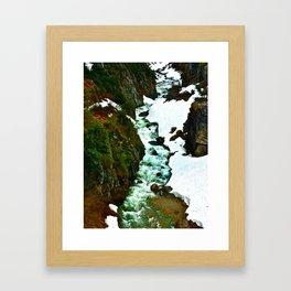 Alaskan Creek Framed Art Print