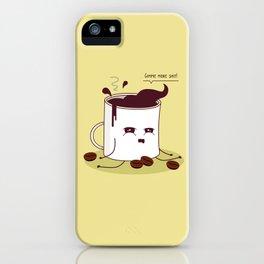 Coffee Mug Addicted To Coffee iPhone Case