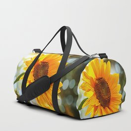 Radiant Sunflower Duffle Bag
