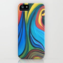 Nature, abstract iPhone Case