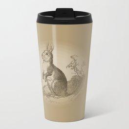 Bunny Rabbit {teddy bear brown} Travel Mug