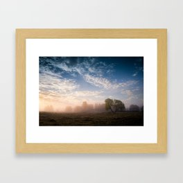 July morning 2 Framed Art Print