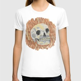 I Want To Live- Skull Painting T-shirt