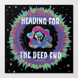 Heading for the Deep End Canvas Print