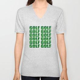 Golf Club Unisex V-Neck