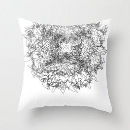 Fairy Fish Throw Pillow