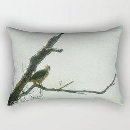 Penetrating Gaze Rectangular Pillow