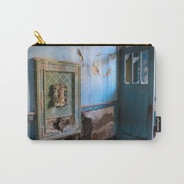 Blue Decay Carry-All Pouch