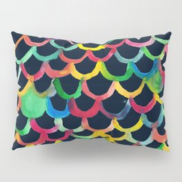 COLOR SCALES DARK Pillow Sham