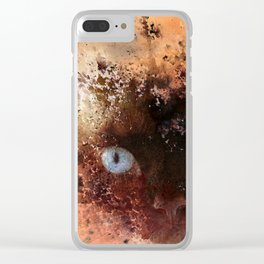 Everything Is Just Peachy Clear iPhone Case