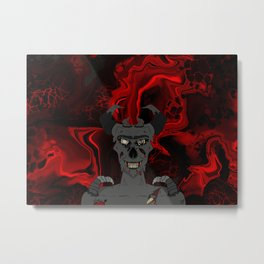 Demon from Hell Metal Print