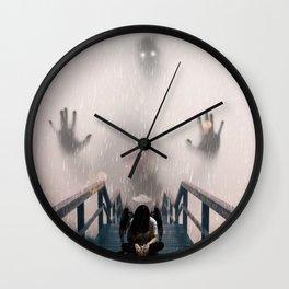 Scared Angel by GEN Z Wall Clock