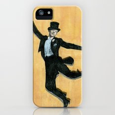 top hat and tails iPhone SE Slim Case