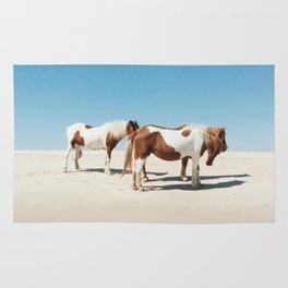 Summer Shore Horses Rug