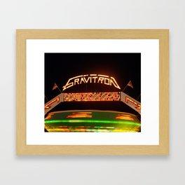 Gravitron Framed Art Print