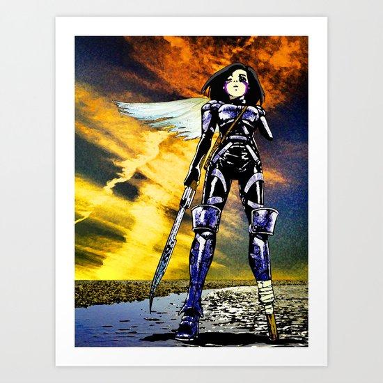 Ouroboros – Battle Angel Alita Art Print