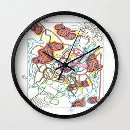 Kuiper's Meteorite Belt Wall Clock