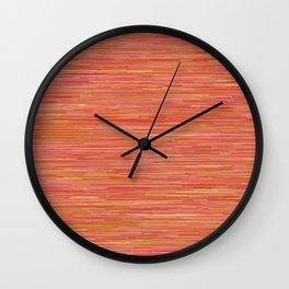 Series 7 - Tangerine Wall Clock