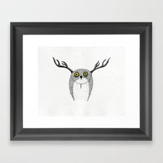 Forest Fancy Dress Framed Art Print