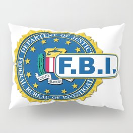 FBI Seal Mockup Pillow Sham