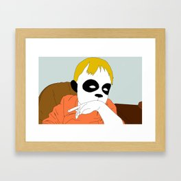 Sincere Listening Skills Framed Art Print