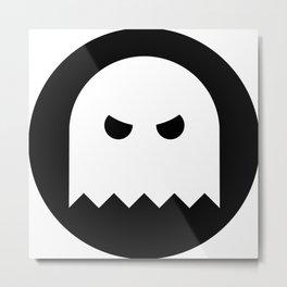 Halloween Ghost Ideology Metal Print