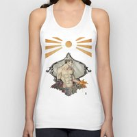 saturn Tank Tops featuring Saturn by Audrey Nichols