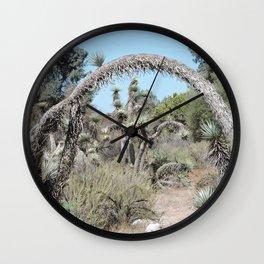 Joshua Tree Arch Wall Clock