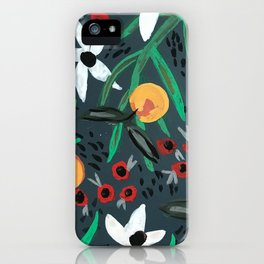 Moody Tropical iPhone Case